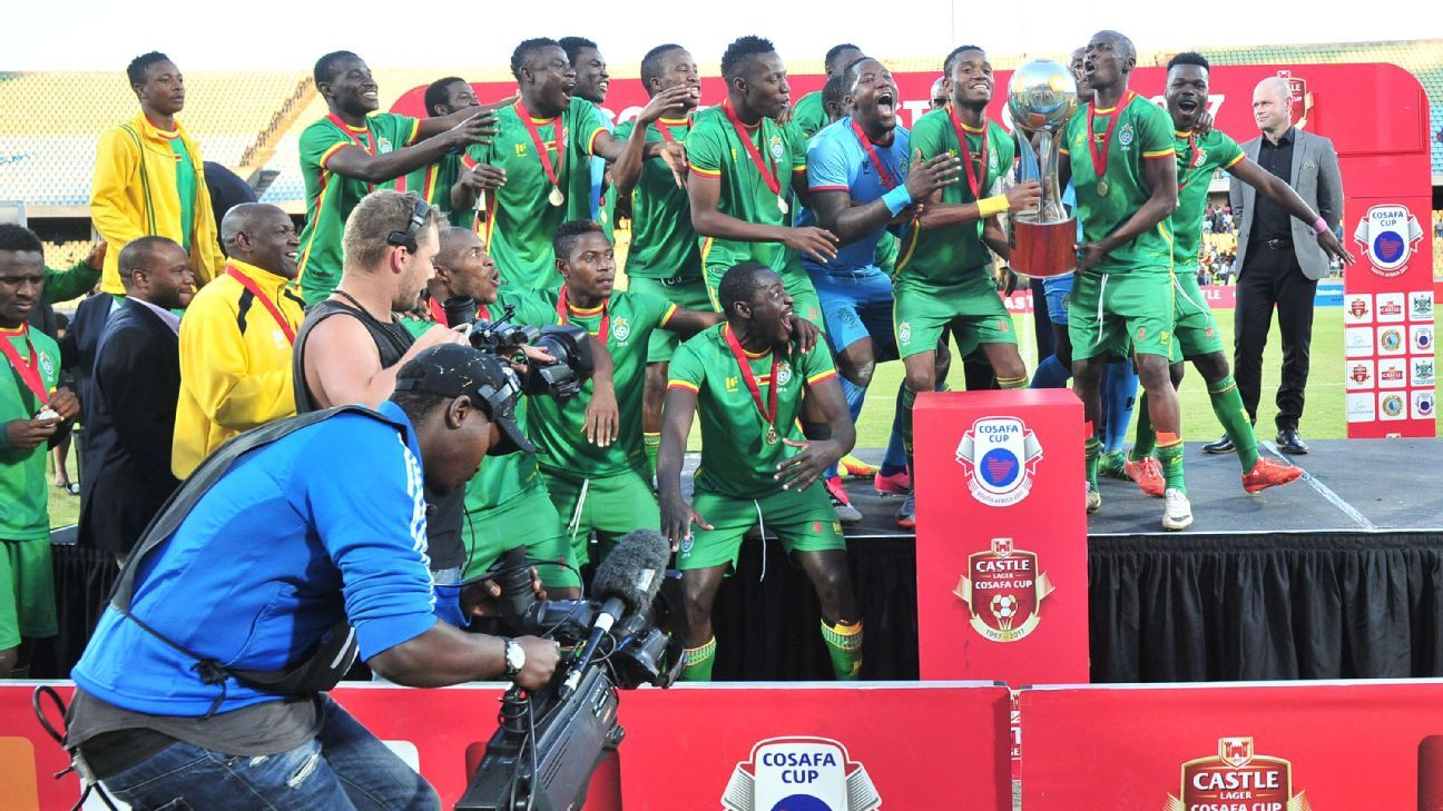 Zimbabwe winners of the 2017 Cosafa Castle Cup