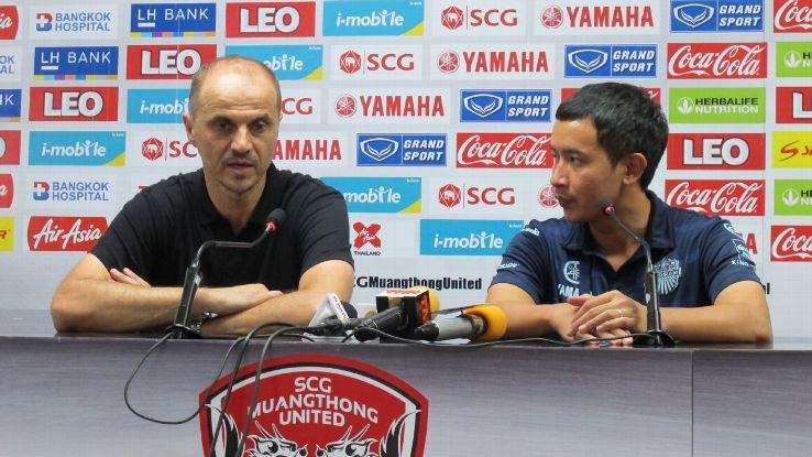 Buriram United coach Božidar Bandović