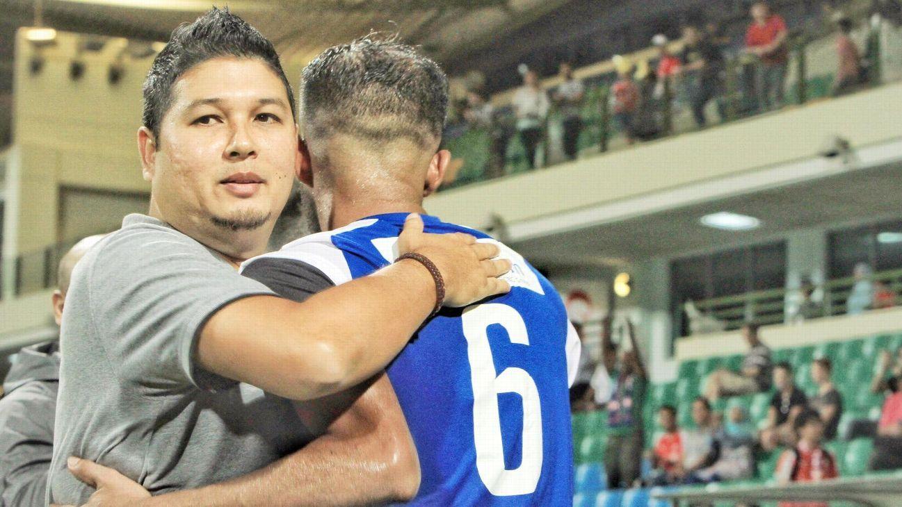 Home United coach Aidil Sharin
