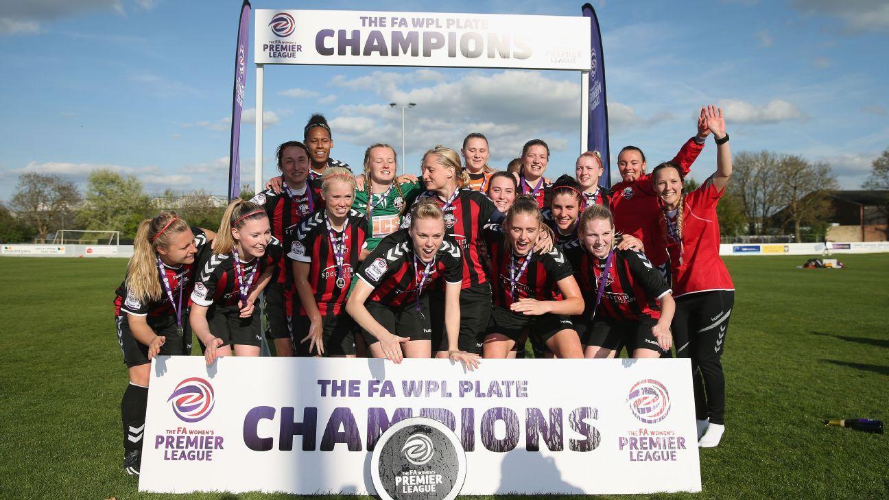 Lewes women's team