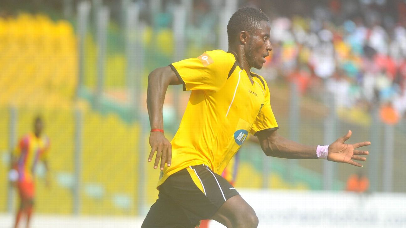 Ahmed Adams of Kumasi Asante Kotoko