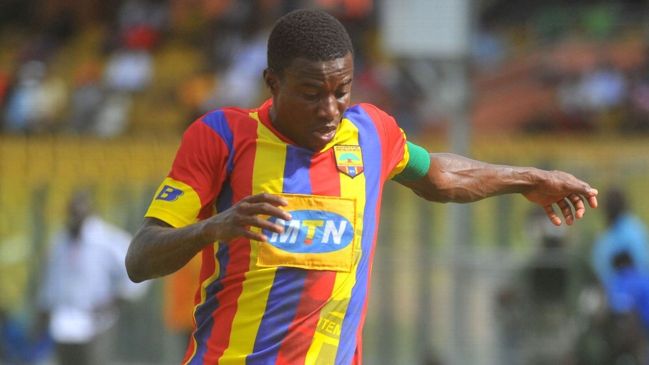 Thomas Abbey of Accra Hearts of Oak