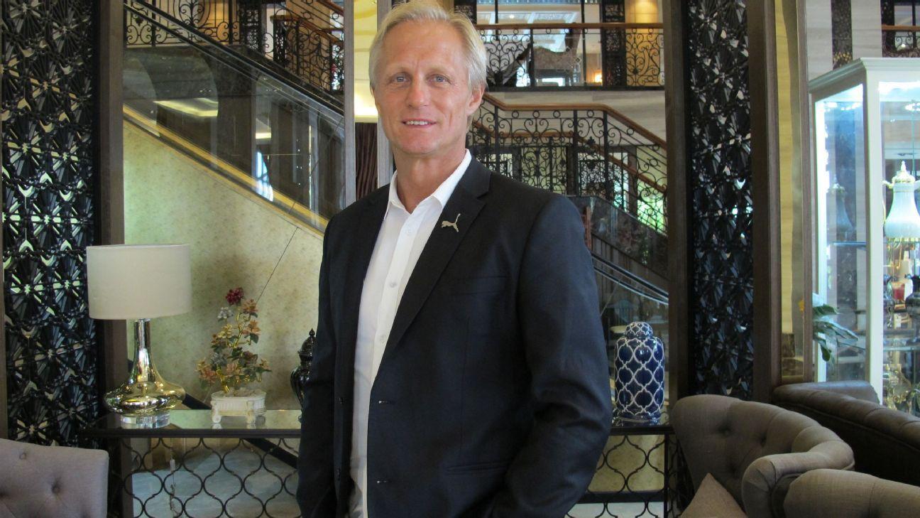 North Korea coach Jorn Andersen