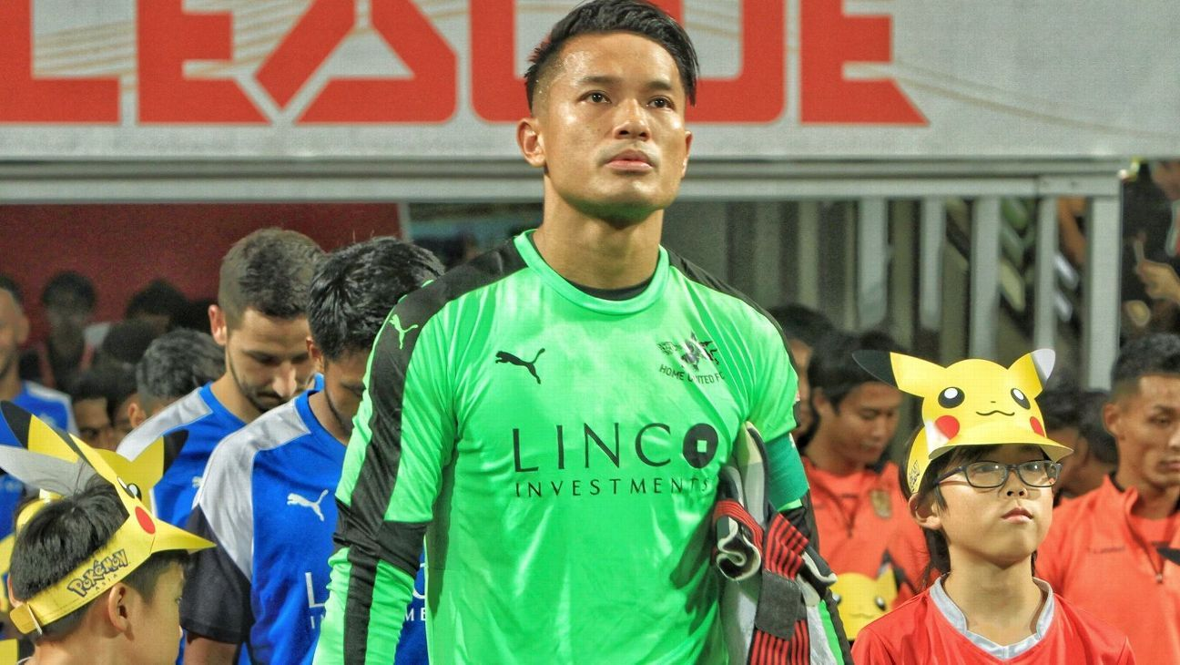 Home United captain Hassan Sunny