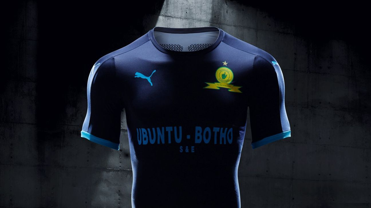 Mamelodi Sundowns' new Step Out shirt for 2017-18 season