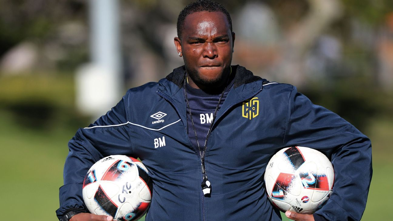 Benni McCarthy, coach of Cape Town City FC