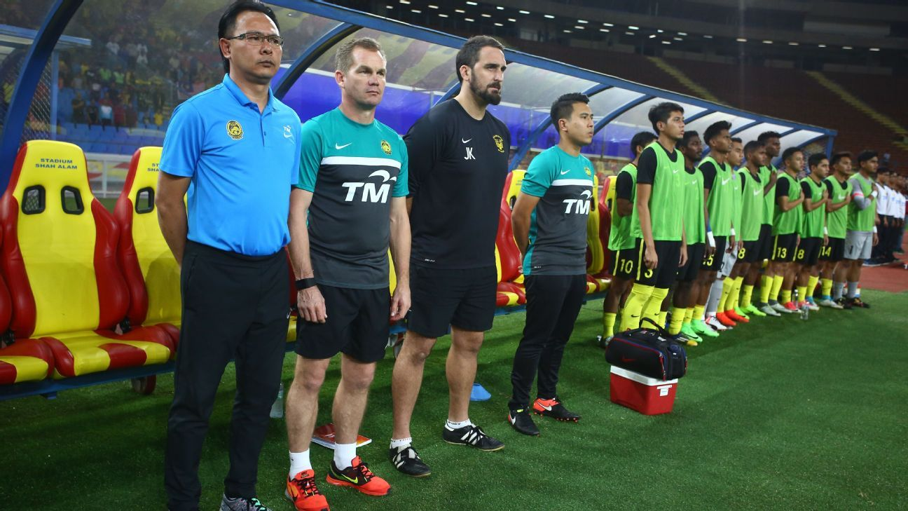 Malaysia SEA Games coaches Ong & Maloney