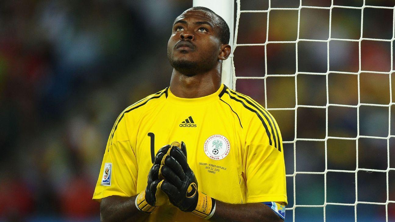 Victor Enyeama of Nigeria