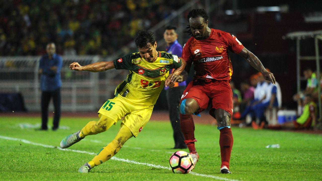 Kedah's Rizal Ghazali vs Selangor's Forkey Doe