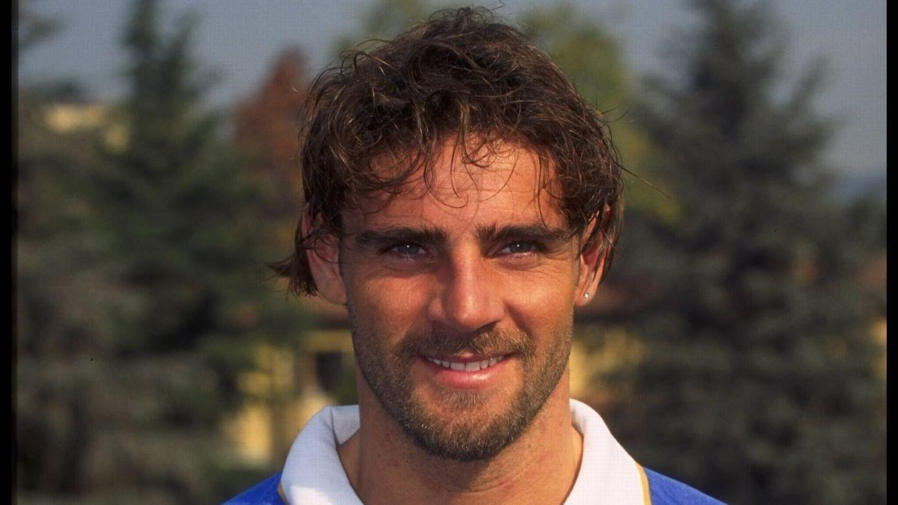 Marco Simone of Italy