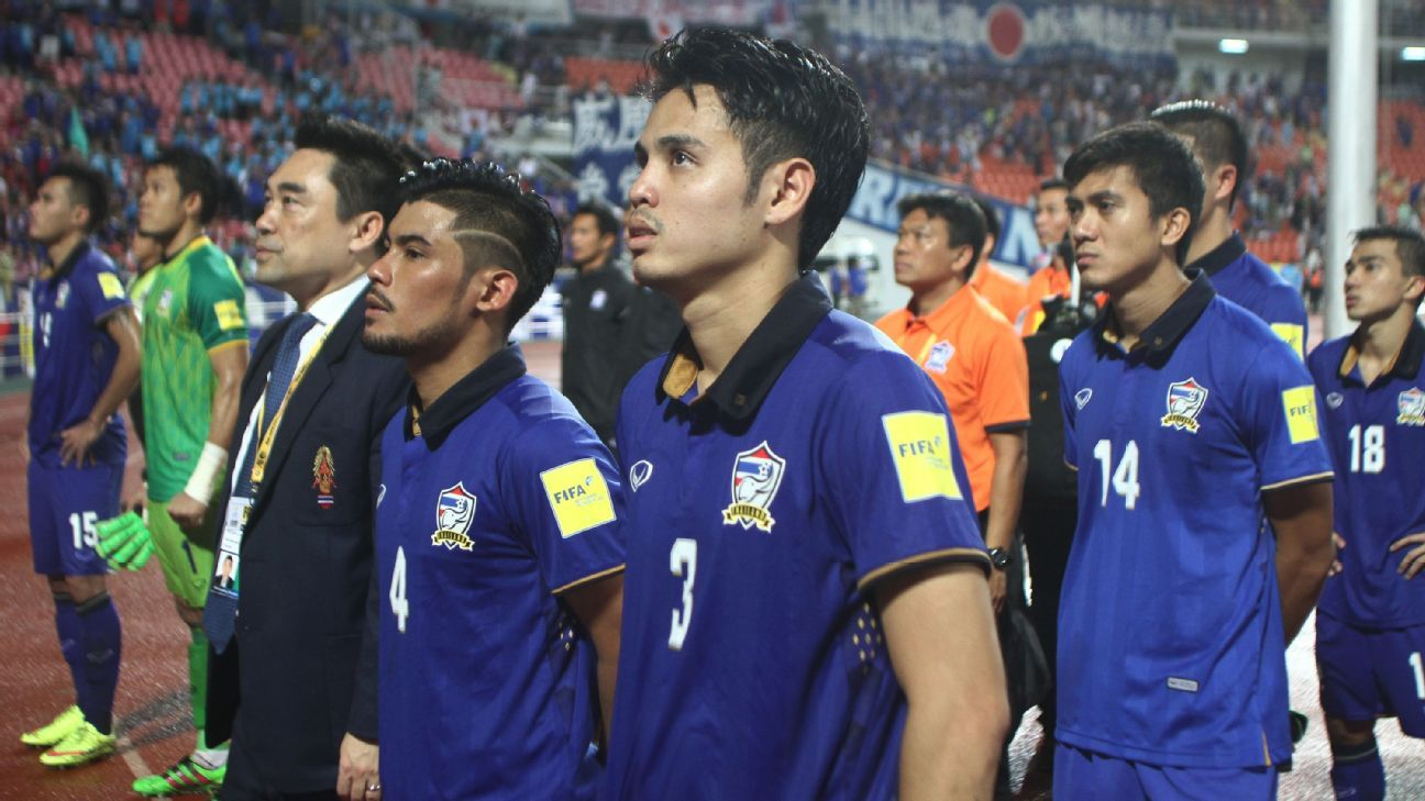 Thailand national team 2017