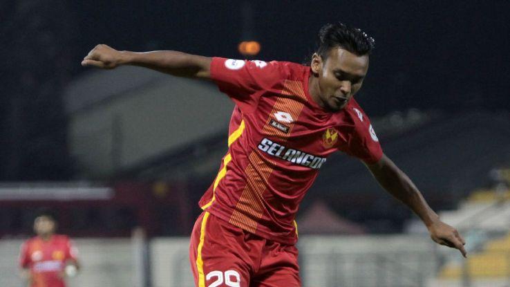 Selangor forward Amri Yahyah