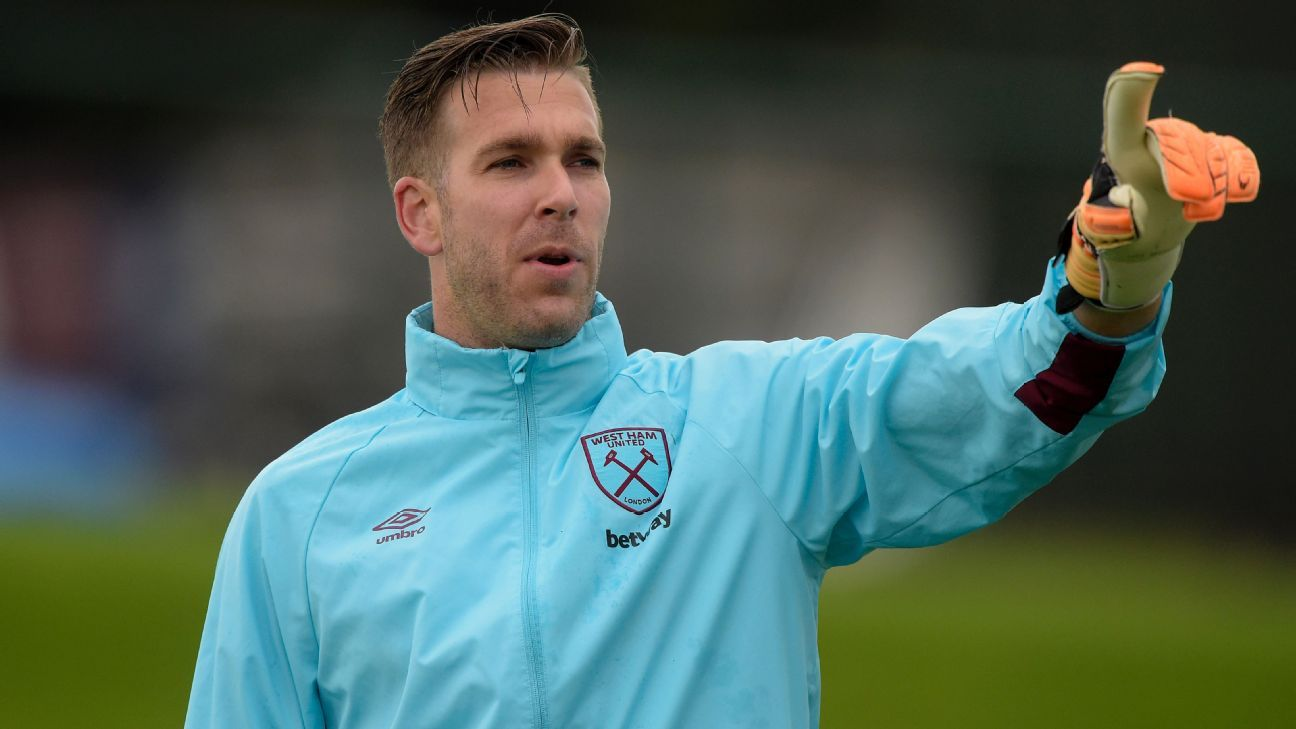 Adrian joined West Ham from Betis in 2013.