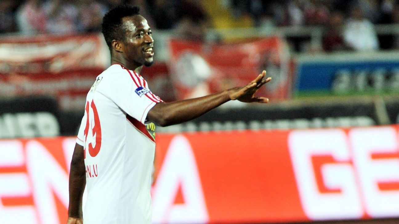 John Utaka of Sivasspor