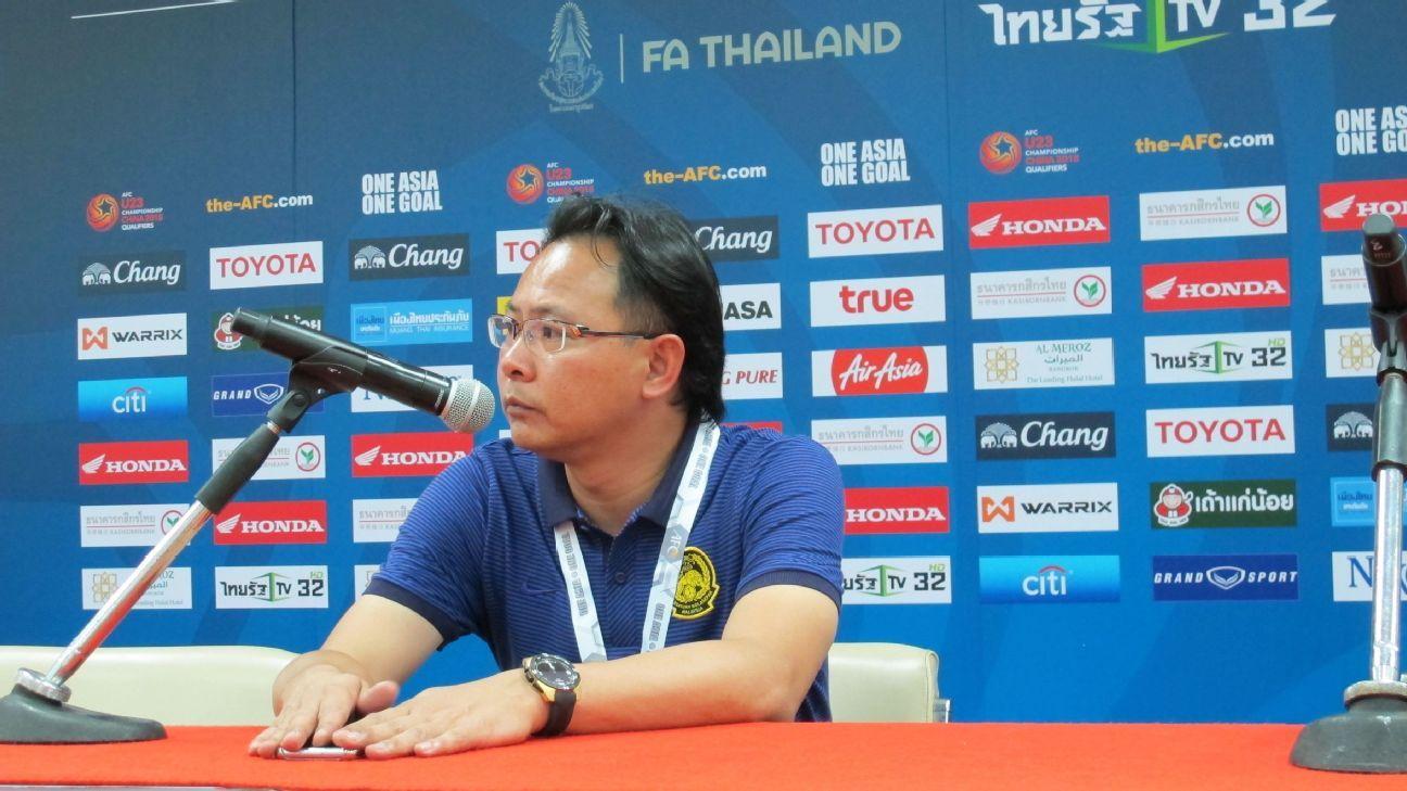Malaysia U23 coach Ong Kim Swee in Thailand