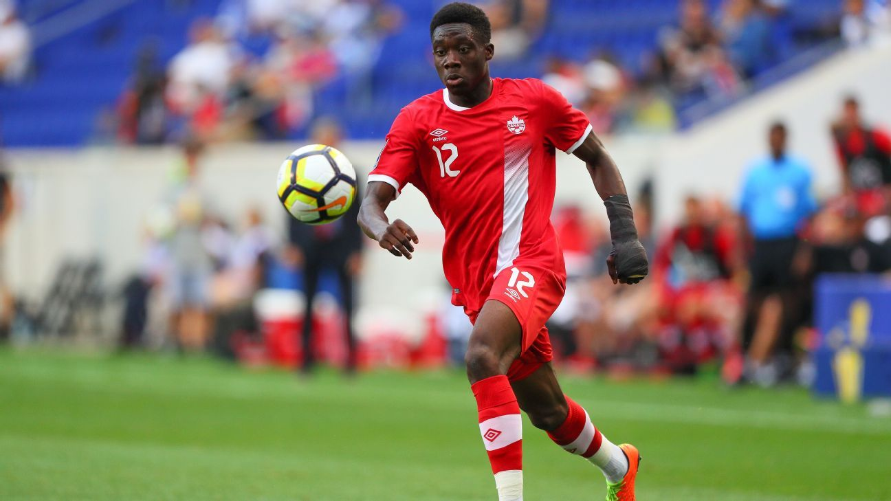 Alphonso Davies is wanted by Bayern Munich.