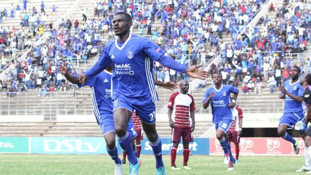 Dynamos striker Christian Epoupa.
