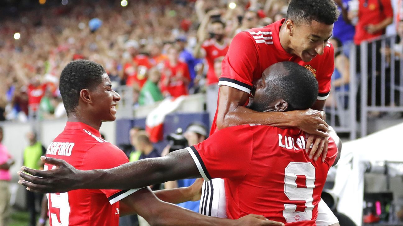 Lukaku and Rashford show promise for Man United and a two-striker system