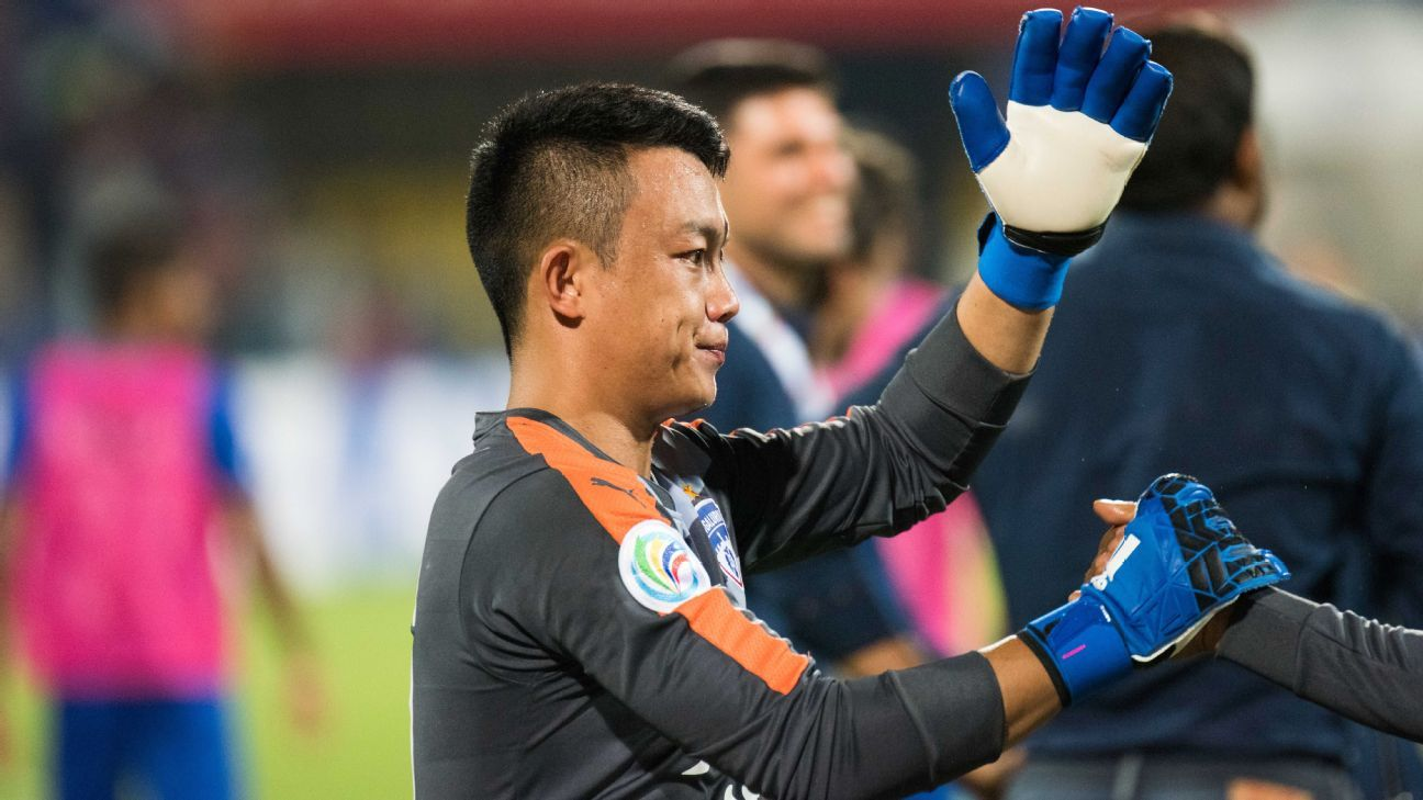 Lalthuammawia Ralte was one of four players who'd served Bengaluru FC well in the I-League and were bought back by the team in the draft.