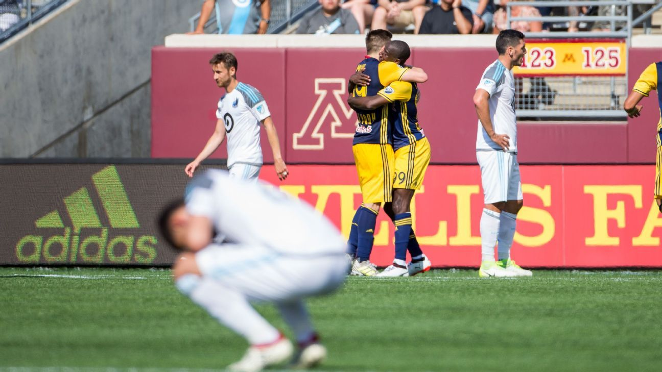 Minnesota United finds a 'positive' after 3-0 home defeat vs.  Red Bulls