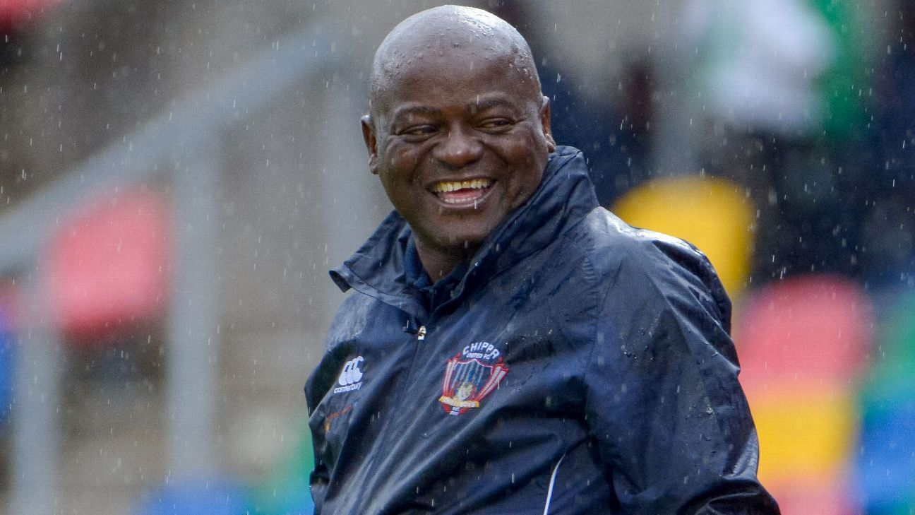 Chippa United head coach Dan Malesela