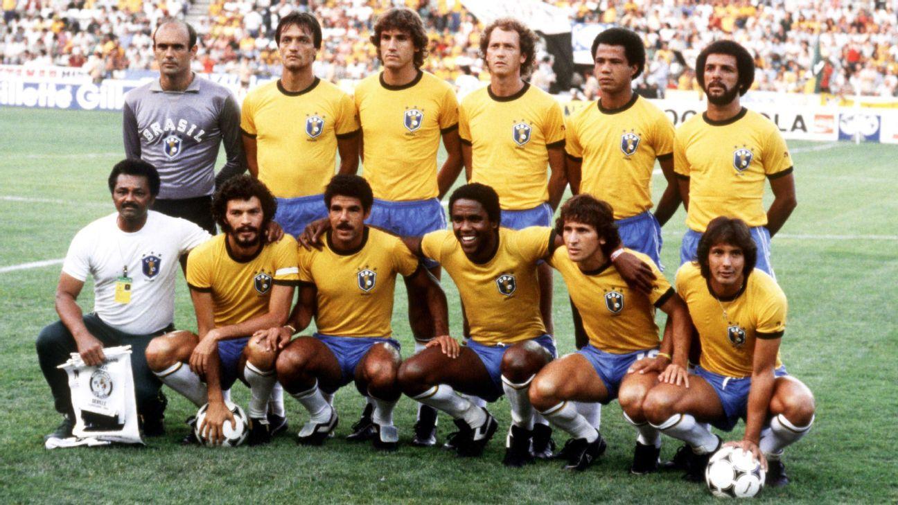 Waldir Peres with Brazil