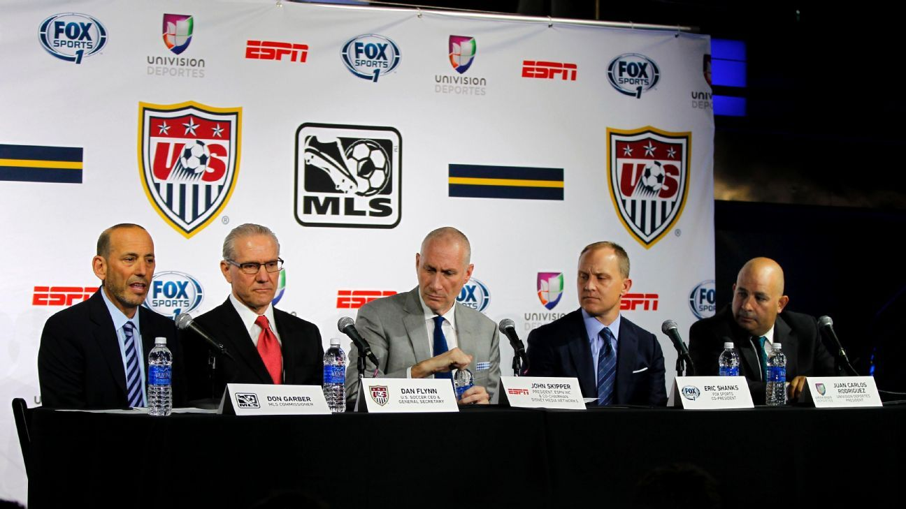 MLS broadcast rights announcement