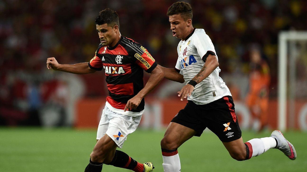 Ederson action Flamengo