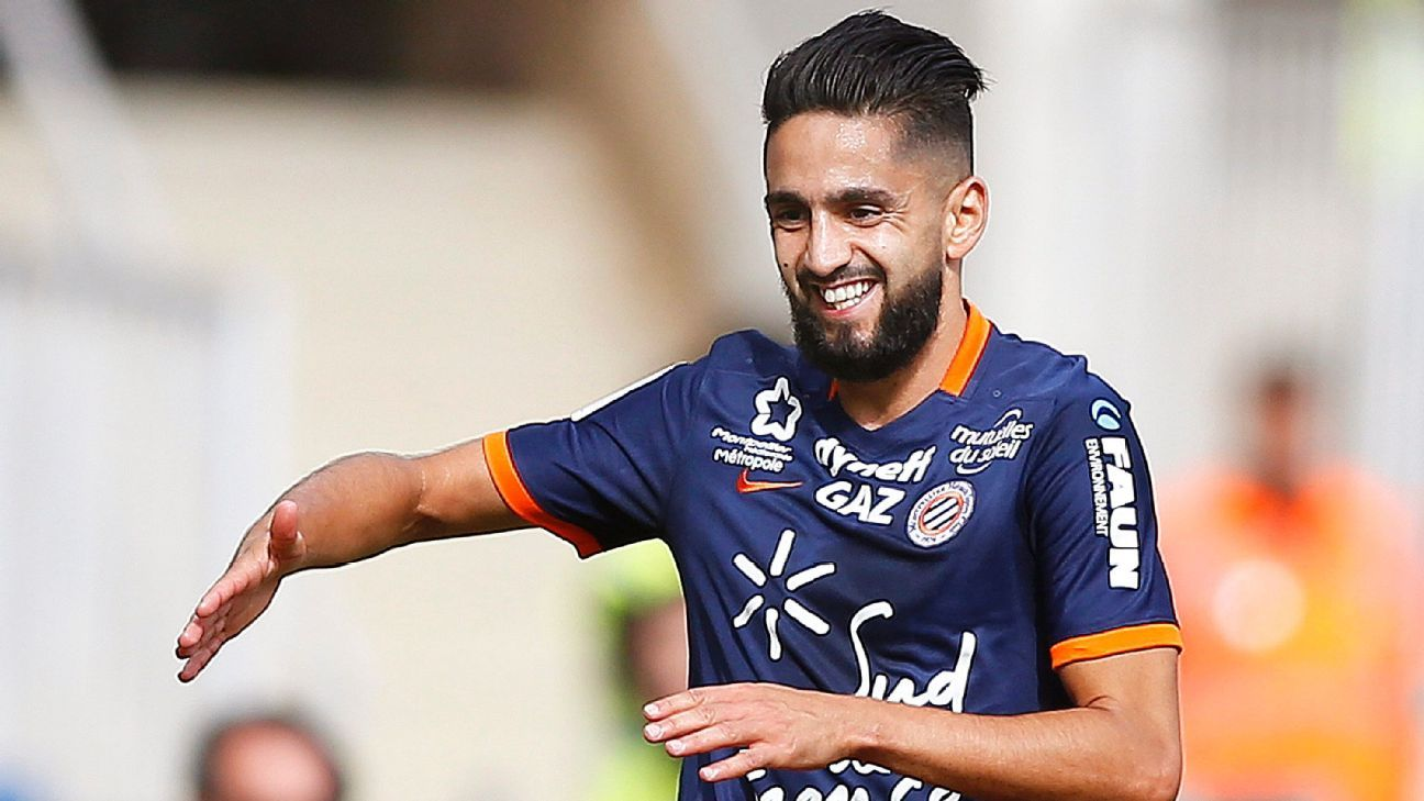 Ryad Boudebouz of Montpellier
