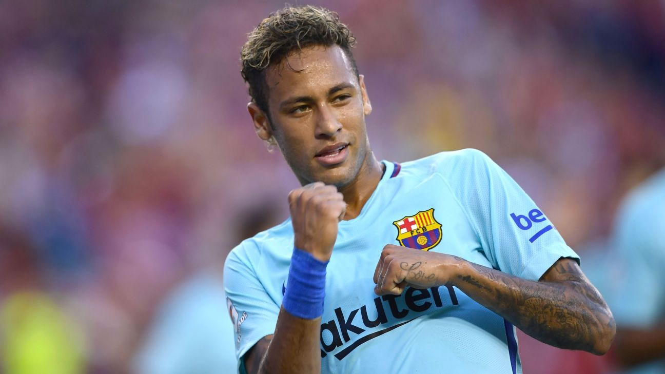Neymar to fly to China after <i>Clasico</i> vs. Real Madrid - source