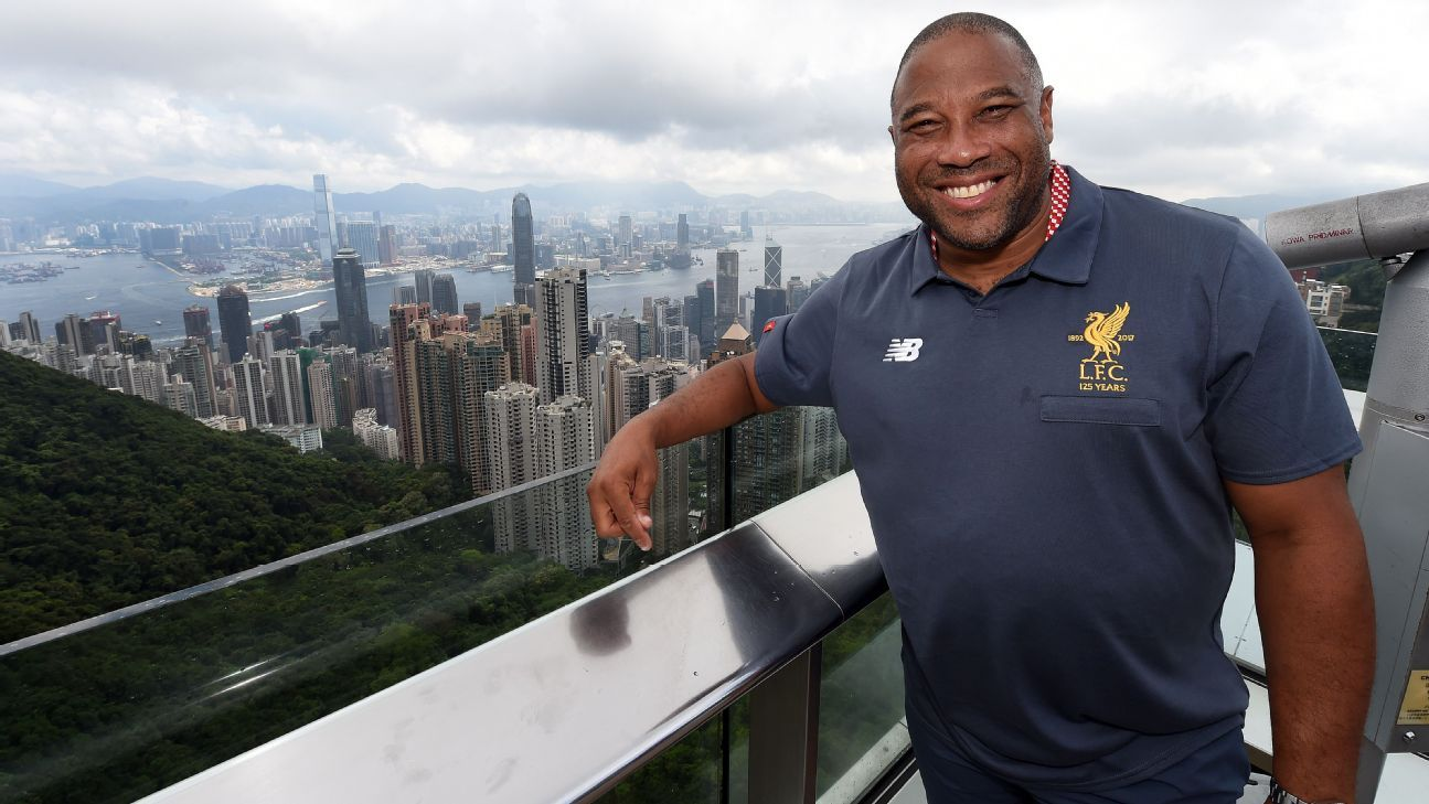 John Barnes in Hong Kong 2017