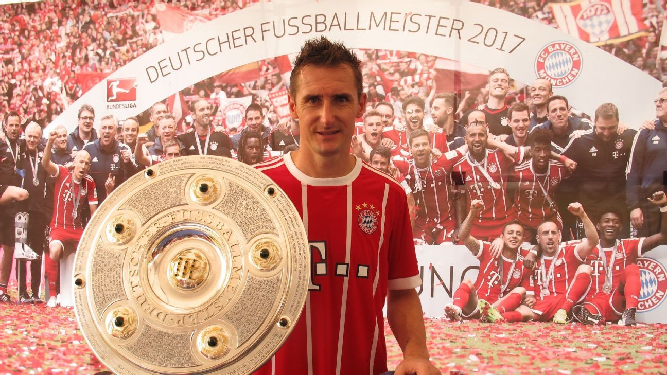 Miroslav Klose in Singapore 2017