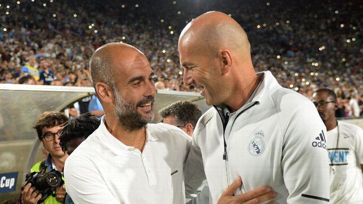 Pep Guardiola & Zinedine Zidane
