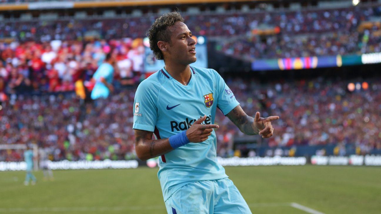 Neymar starting for Barcelona in Clasico vs. Real Madrid ...