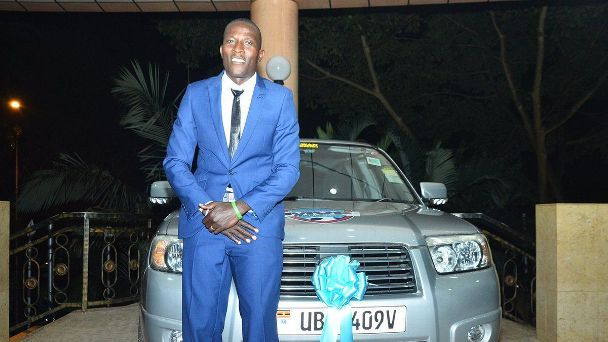 Geoffrey Sserunkuma of Kampala City.