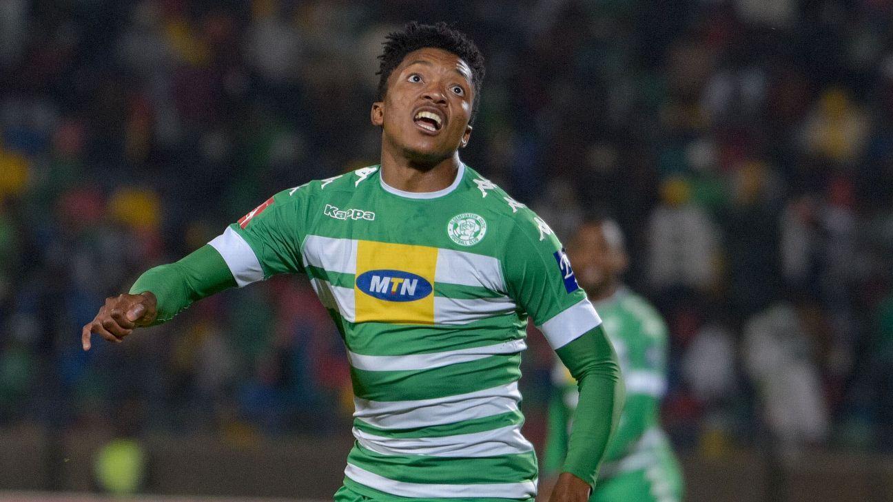 Dumisani Zuma of Bloemfontein Celtic