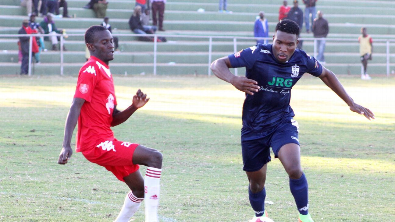 Black Rhinos taking on Ngezi Platinum in a Zimbabwe Premier League clash