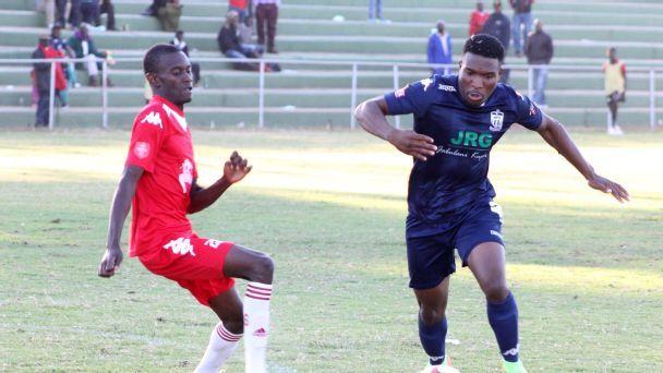 Black Rhinos taking on Ngezi Platinum in a Zimbabwe Premier League clash