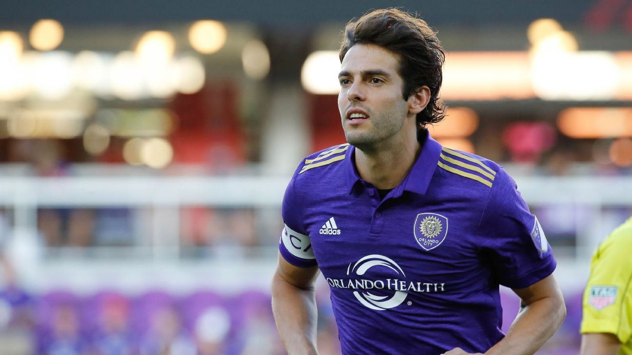 Kaka won't renew contract with Orlando City at season's end