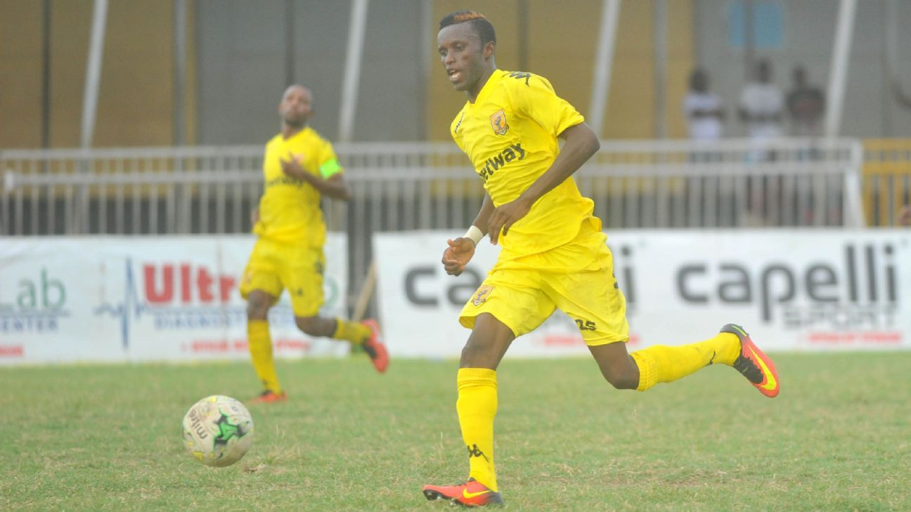 Samed Ibrahim of AshantiGold