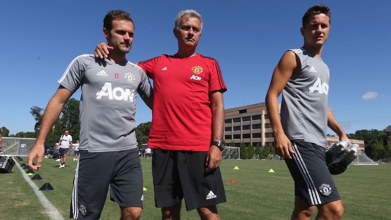 Juan Mata and Ander Herrera have played important roles at Manchester United since Jose Mourinho's arrival.