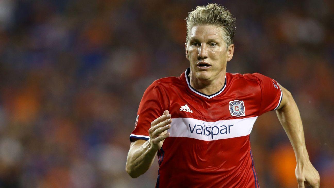 Chicago Fire's Bastian Schweinsteiger 'not 100 percent' ahead of playoffs
