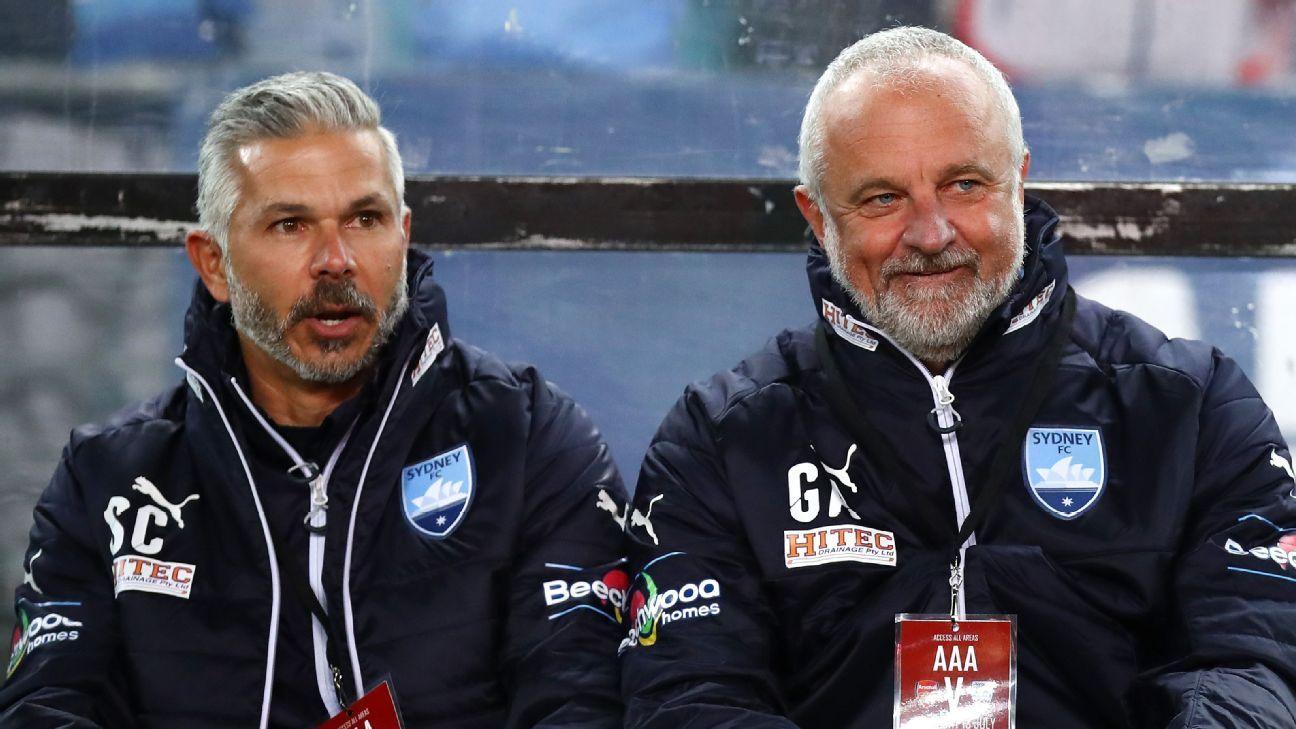 Steve Corica & Graham Arnold