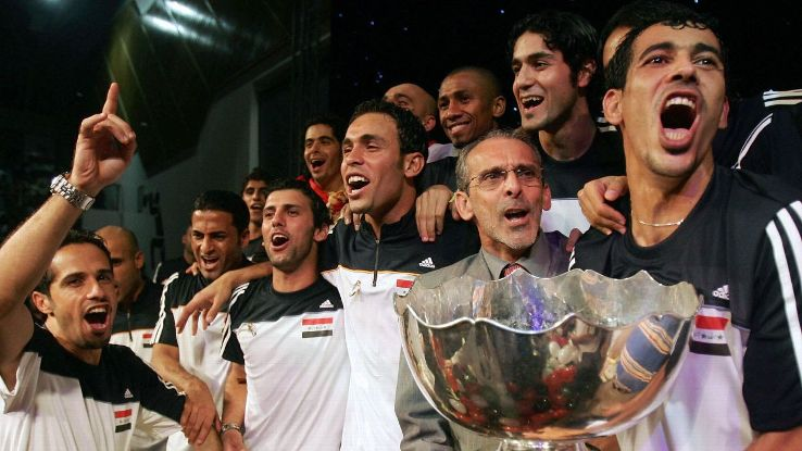 Former Iraq coach, Jorvan Vieira in 2007
