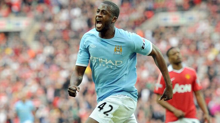 Yaya Toure enjoyed massive success at club level with Manchester City.
