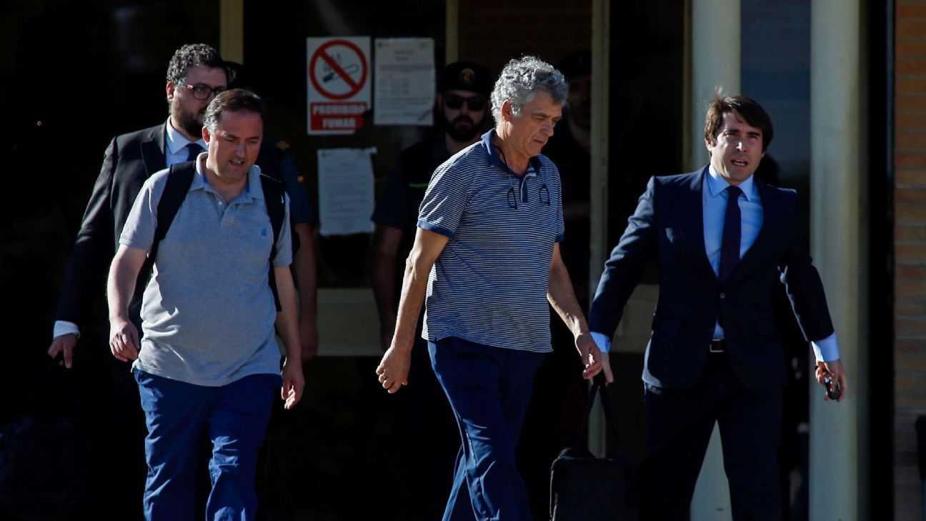Villar released from Madrid prison 170801