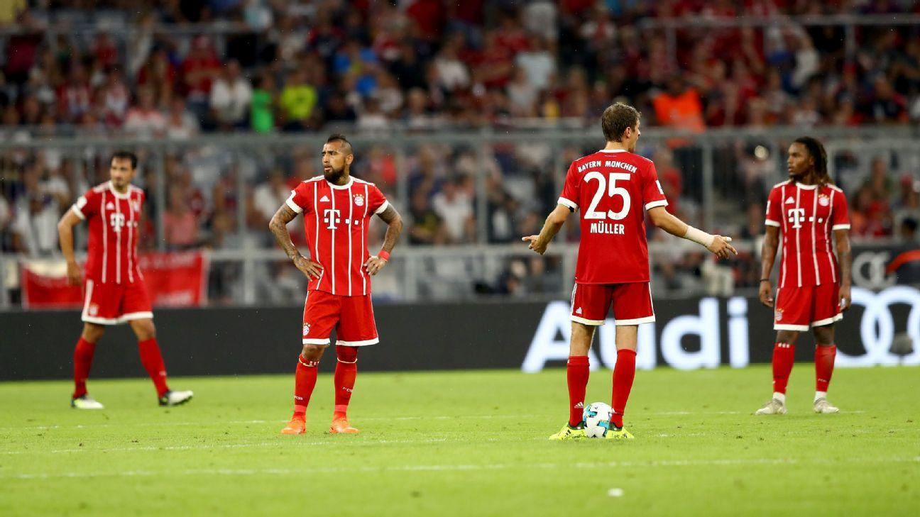 Bayern woe vs Liverpool 170801