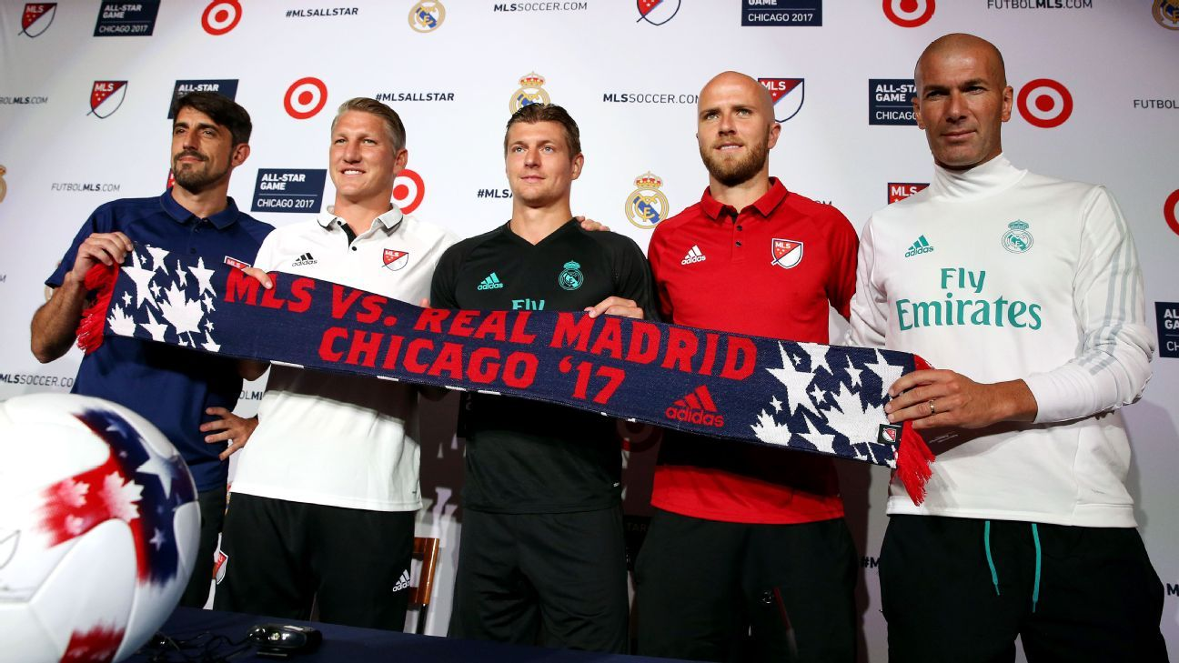 MLS All-Star news conference