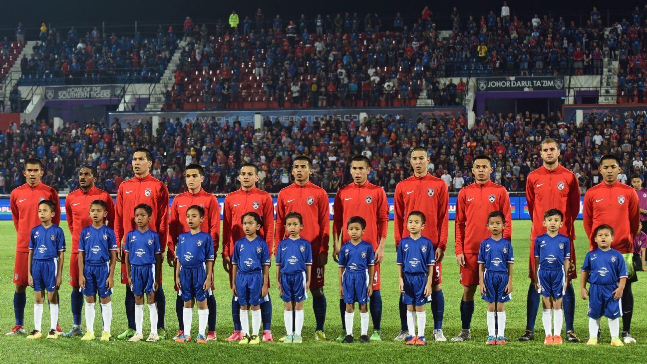 JDT in 2017 Malaysia Cup match v Terengganu