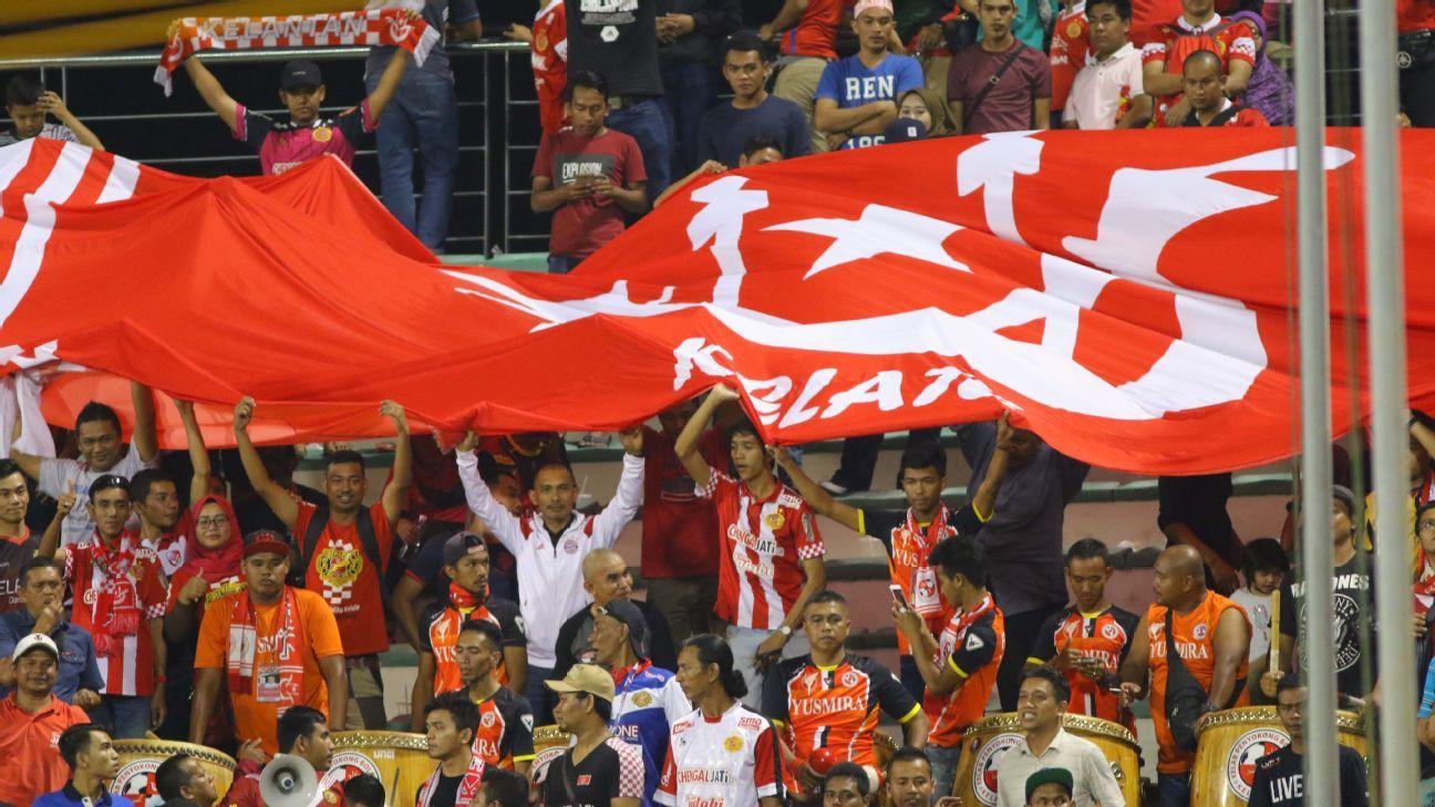 Kelantan fans in 2017 MSL